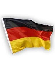 Deutschland Flagge mit Adler 90 x 150 cm Deutschlandfahne Deutsche Fahne 2 Ösen