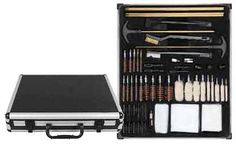 With our busy lives, you may not always have to the time to clean your gun right after a shooting session. Therefore, when you do find the time, you'll want this Allen 60 Piece Cleaning Kit so that you aren't running around looking for parts.