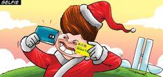 Cartão de Natal   Humor Político