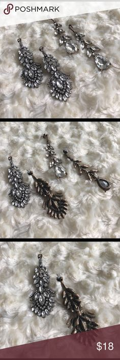 "🆕Ornate Chandelier Earrings Nwt. Price is for 1 pair, they're approximately 2.5-3"" long. Aged vintage look. NO TRADES Quinn-Tessential Designs Jewelry Earrings"