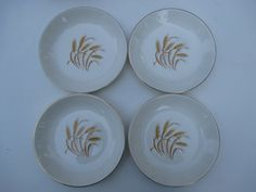 Homer Laughlin Duz Detergent Golden Wheat  Set by MarieWarrenArts, $25.00