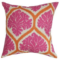Ambry Pillow in Pink.