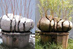 Оригинал взят у tanjand в Alastair Heseltine Alastair Hese Concrete Sculpture, Stone Sculpture, Concrete Crafts, Concrete Art, Concrete Stone, Garden Art, Garden Design, Pierre Decorative, Concrete Garden