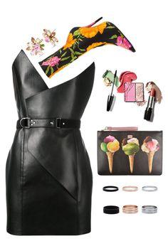 """IT!"" by maria-laura-correa-da-silva ❤ liked on Polyvore featuring Yves Saint Laurent, Balenciaga, Dolce&Gabbana and Betsey Johnson"