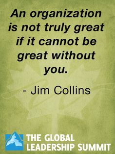Leadership quote by Jim Collins