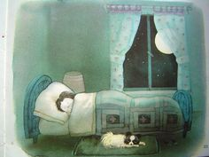 "Детская Книга - ""El Perdido"" , Ilustraciones: Ulises Wensell 1981 Illustration, Drawings, Painting, Art, Book Illustration, Book Art, Dog Illustration"