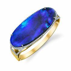 GABRIELLE'S AMAZING FANTASY CLOSET | Irene Neuwirth Opal Diamond Bracelet #opalsaustralia