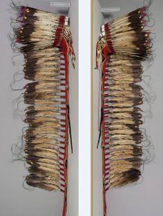 Sioux or Cheyenne trailer bonnet.  NMNH