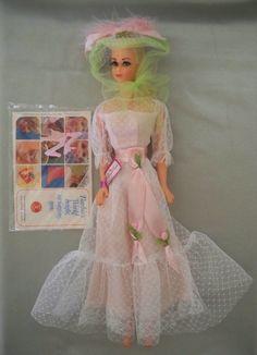 Truly Scrumptious MOD era Barbie friend MINT wrist tag, booklet | eBay