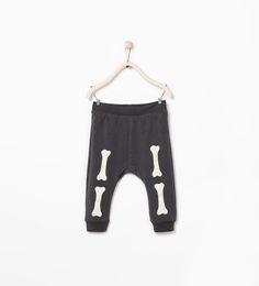 Image 1 of BONES LEGGINGS from Zara