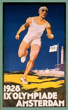 Olympic posters: Amsterdam 1928. Pinned by Ignite Design & Advertising, Inc. www.clickandcombust.com