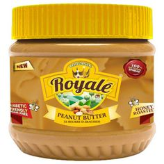 Buy Organic Royale honey roasted peanut butter - honey roasted peanut butter is made of peanuts roasted with honey, honey used for this peanut butter is 100 per cent real and original with real taste of perfection, ultimate source of instant energy, nutrients and vitamins.
