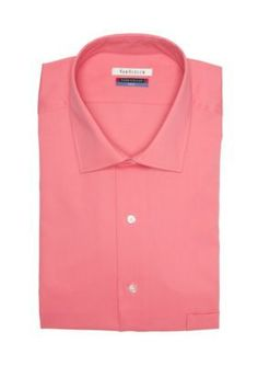 Van Heusen Dress Shirts Englsh Rose Big  Tall Wrinkle Free Flex Collar Dress Shirt