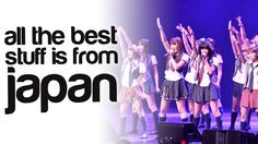 All the Best Stuff is from Japan episode 3 - our YouTube video series about funny, cute and interesting stories from Japan. This episode: bunny cafes, AKB48 j-pop fans and designer jeans.