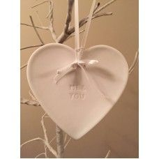 Me and You ceramic heart £3