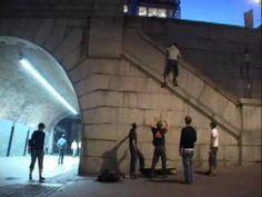 """London Buildering - Sidewalk Slopers by Caedmon Mullin. Trailer for London Buildering movie, """"Sidewalk Slopers"""""""