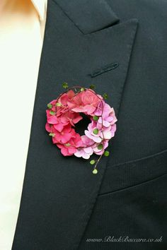 Soft pink hydrangea boutonniere with trailing muehlenbeckia vine.Love this boutonniere. Hydrangea Boutonniere, Corsage And Boutonniere, Boutonnieres, Pink Hydrangea Bouquet, Pink Hydrangea Wedding, Hydrangea Bloom, Hydrangeas, Corsage Wedding, Wedding Bouquets
