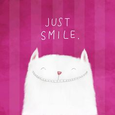 Just Smile! Stretched Canvas