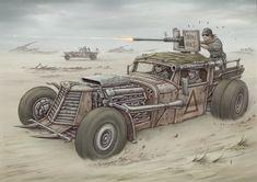 Desert Rats by jflaxman.deviantart.com on @DeviantArt