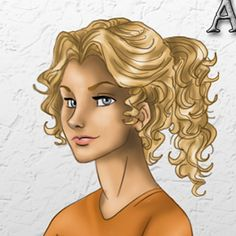 Annabeth Chase! love this picture