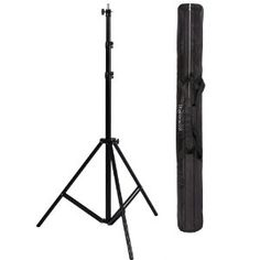 """Ravelli ALS Full 10' Air Cushioned Light Stand With Included Adaptor To Also Support 1/4"""" and 3/8"""" Photo Equipment and Heavy Duty Carry Bag by Ravelli. $31.16. The Ravelli ALS model light stand is adjustable up to 10' tall. The light stand has been designed with an air cushioned shock to provide smooth adjustments. Also included is a reversible male studio spigot adapter which allows the use of photographic equipment with 3/8"""" or 1/4"""" threads. The adapter is also machined wit..."""