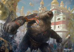 Giant Spectacle - Kaladesh MtG Art