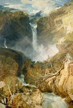 William Turner - The Great Falls of the Reichenbach