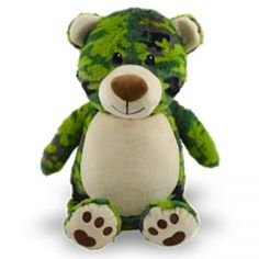 Peluches personnalisables - Boutique - Broderie Amé Design Cute Stuffed Animals, Dinosaur Stuffed Animal, Boutique, Camo, Teddy Bear, Toys, Couture, Products, Animales