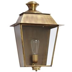 French Outdoor Brass Sconce Saint-Tropez by Atelier MB