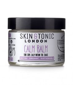 Buy Skin & Tonic Calm Balm online from Yogamatters - the leading Yoga & wellness specialist - with free UK delivery over Chamomile Essential Oil, Essential Oils, Natural Face Cream, Cracked Skin, Moisturizer For Dry Skin, Face Oil, Natural Cosmetics, All Things Beauty, Organic Skin Care