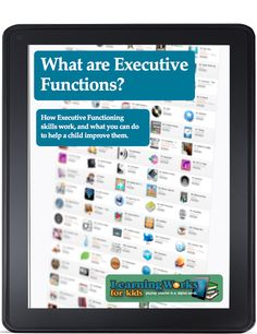 Free Executive functioning Ebook.