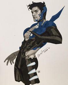 Jaime Reyes Blue Beetle Transformation - Kevin Wada
