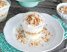 Crème dessert à la noix de coco au thermomix ,une délicieuse creme légère au parfum exotique. Si simple à préparer, voila la recette thermomix .