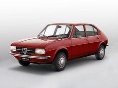Alfa Romeo Alfasud (1972 – 1977).