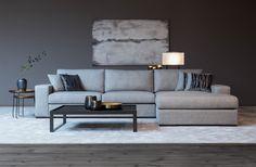 Heb je onze nieuwe hoekzetel 'Devino' al ontdekt? Deze prachtige sofa is een ware eyecatcher in elk interieur! Je hebt de keuze uit ongelooflijk veel maatwerkmogelijkheden en 1001 verschillende stoffen.