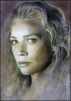 Andrea by DavidDeb / Laurie Holden as Andrea from The Walking Dead #TheWalkingDead