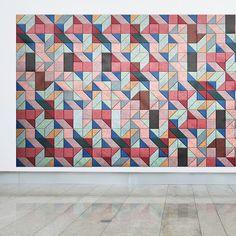 modern furniture design workplace office baux acoustic tiles