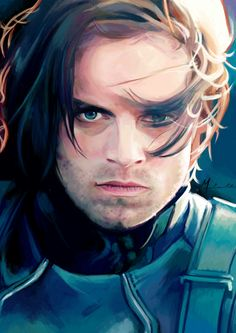 Incredible fanart The Winter Soldier