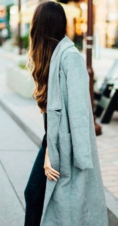This grey long sleeve notch lapel is such a fall staples, cute with jeans or a dress.