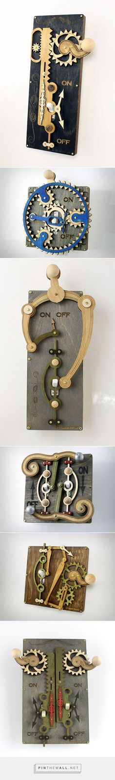 These Overly Complicated Light Switch Covers From Green Tree Jewelry are Awesome «TwistedSifter.