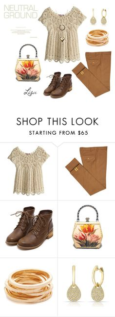 """""""Cool Neutrals"""" by coolmommy44 ❤ liked on Polyvore featuring Calypso St. Barth, Diverso, Kenneth Jay Lane, Anne Sisteron, WithChic, neutrals, polyvoreeditorial and polyvorecontest"""