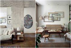 Este apê de visual limpo tem protagonistas bem definidos: o mobiliário dinamarquês e brasileiro de época e as belas obras de arte