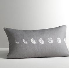 Moon Phases Decorative Pillow Cover $44.