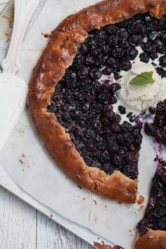 Have you tried my new Grain-Free, Gluten-Free & Paleo Blueberry Galette?