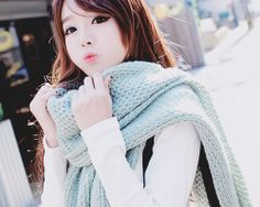 ♥ the knit scarf