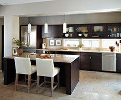 Kitchens W Dark Cabinets On Pinterest Dark Cabinets