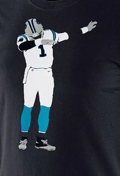 dabb dance. nike carolina panthers cam newton silhouette dab dance shirt super bowl sz xxl from $54.99 dabb