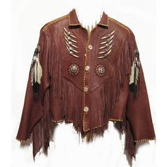 Native American Leather Jackets found on Polyvore