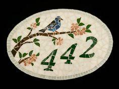 Numero em mosaico by Cintia Cimbaluk