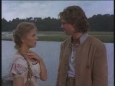 Genie Francis as Brett Main Hazard and Parker Stevenson as Billy Hazard in North and South miniseries.